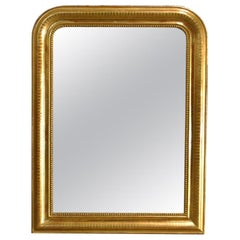 Antique 19th Century French Gold Gilt Louis Philippe Mirror