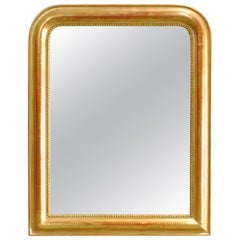 Antique 19th Century French Louis Philippe Gold Gilt Mirror