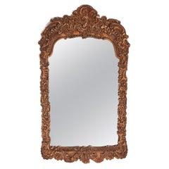Antique 19th Century Gilt Gesso Framed Wall Mirror