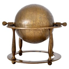 Antique 19th Century Islamic Persian Arabic Bronze Celestial Globe Astrolabe