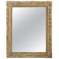 Antique 19th Century Italian Gesso Mirror