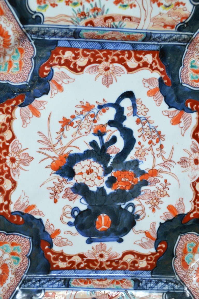 A perfectly lovely example of the Imari tradition.