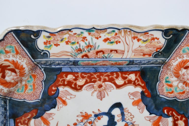 Antique 19th Century Japanese Imari Charger For Sale 1