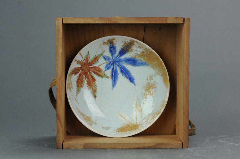 A very nice set of 5 plates. Absolutely some of the most original pieces of porcelain i have ever seen.  18-2-19-1-9  Condition  Overall condition good: Some stacking ware and 3 with a hairline in bottom. Size 150mm  Period 19th century