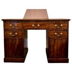 Antique 19th Century Mahogany Architect's Desk