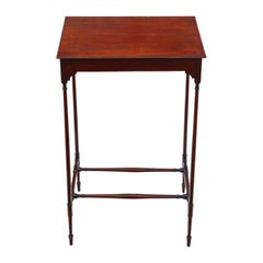 Antique 19th Century Mahogany Occasional Side Table