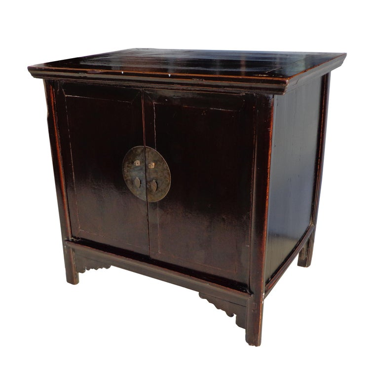 Antique 19th Century Qing Chinese Cabinet For Sale