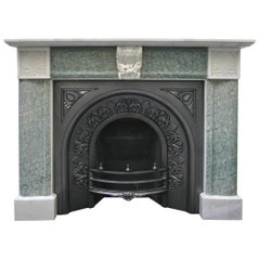 Antique 19th Century Regency Marble Fire Surround