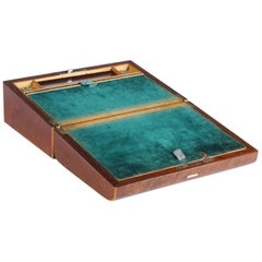 Antique 19th Century Travelling Box, Writing Slope, circa 1860