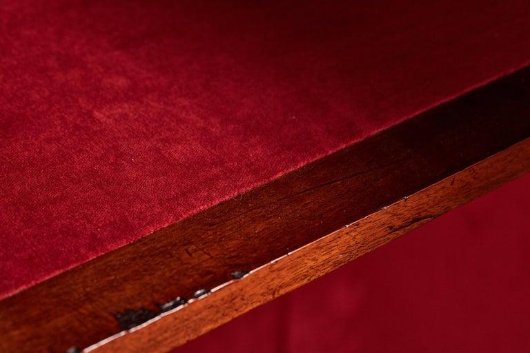 Antique 19th Century Victorian Burr Walnut Inlaid Credenza For Sale 6