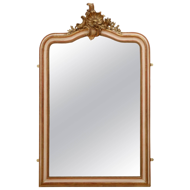 Antique 19th Century Wall Mirror