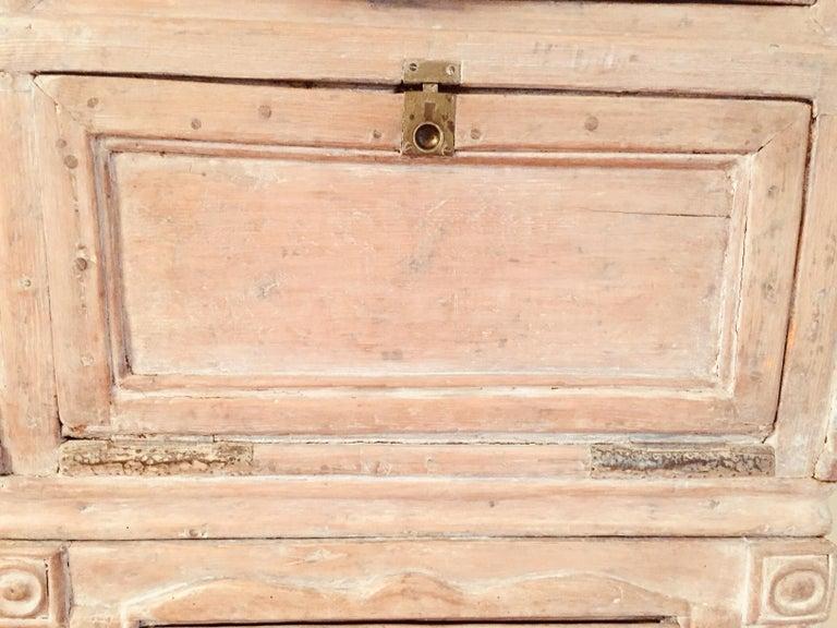 Antique 19th Victorian Curio Cabinet Secretary Desk For Sale 3