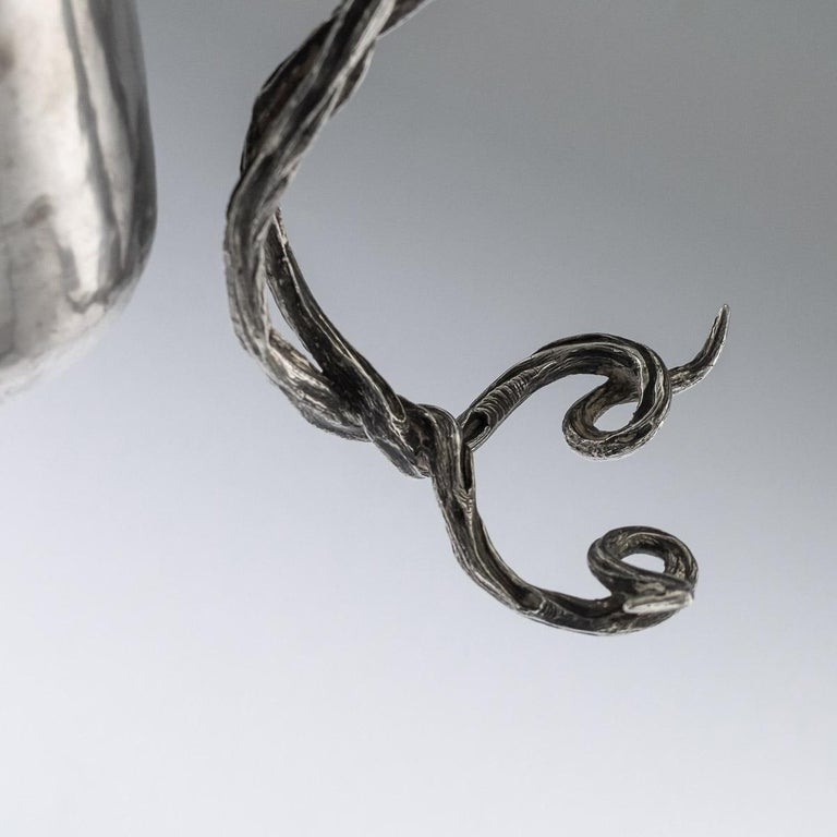 Antique Georgian Solid Silver Fox Stirrup Cup, Reily & Storer, circa 1832 For Sale 1
