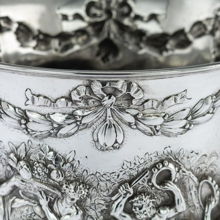 Ornate German wine cooler - precious metal tin - Catawiki |German Wine Refrigerator