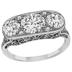 1910s Three-Stone Rings
