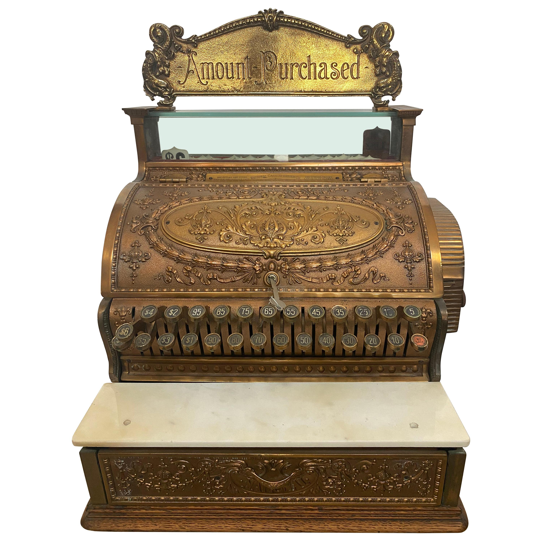 Antique 395 Styles National Cash Register