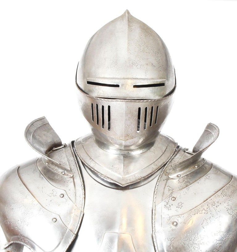 Antique Complete Set of Greenwich Style Tudor Armour, Early 20th Century For Sale 2