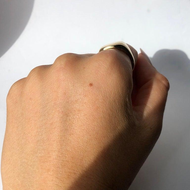 Antique 9 Carat Gold Signet Ring 1
