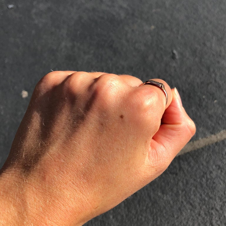 Antique 9 Carat Gold Signet Ring 2
