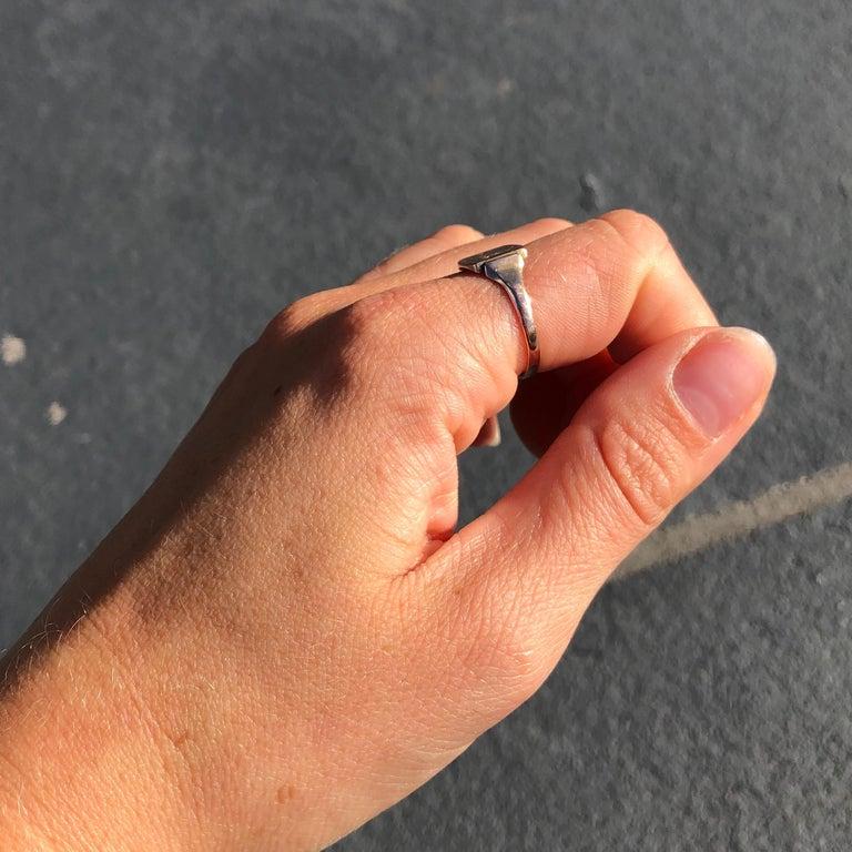 Antique 9 Carat Gold Signet Ring 3