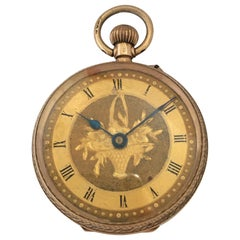 Antique 9 Karat Gold Fob Watch