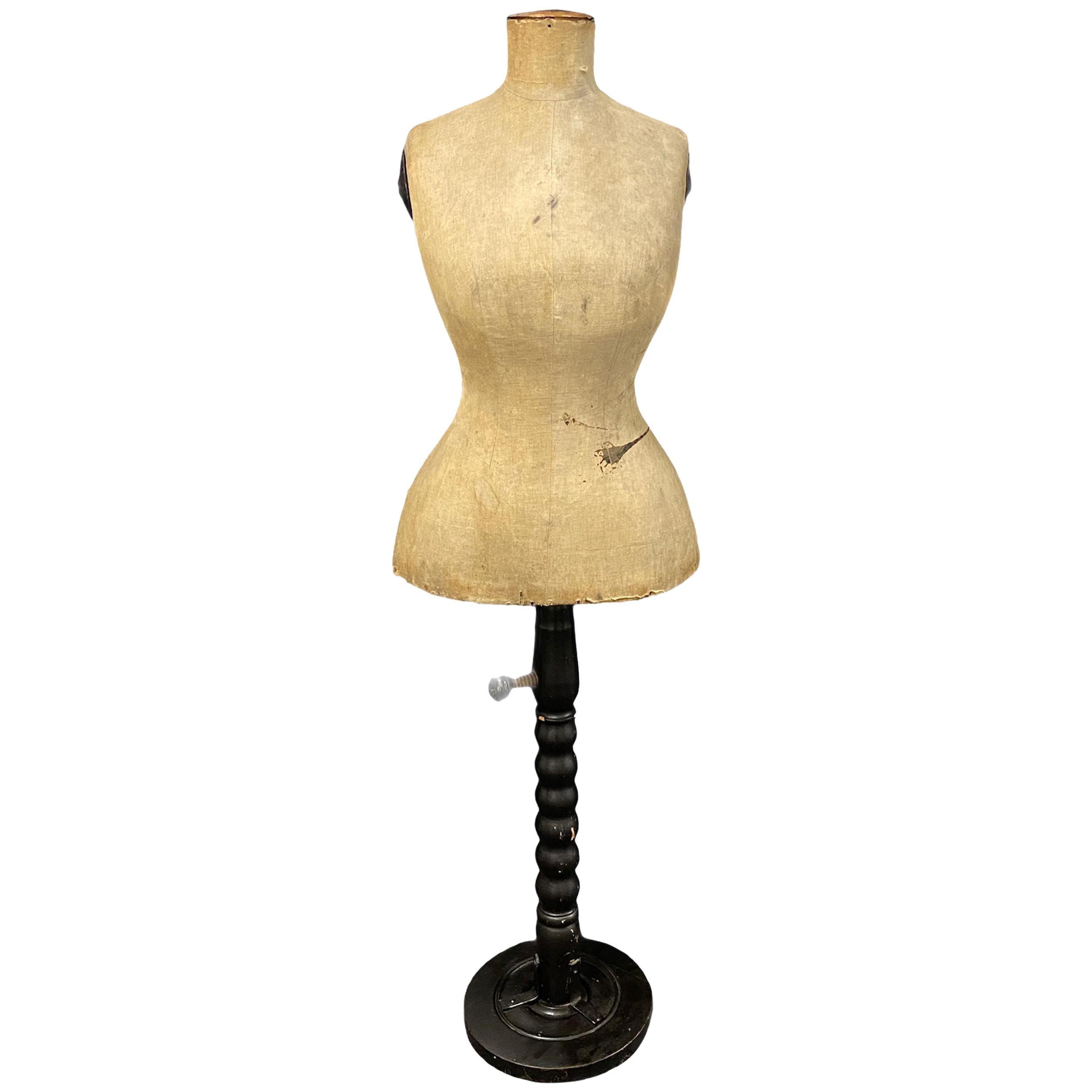 Antique Adjustable Dressmaker Mannequin, Austria, 1890s