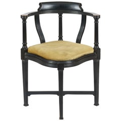 Aesthetic Movement Ebonized Chair by Lamb of Manchester