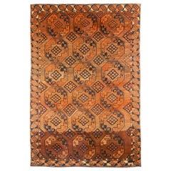 Antique Afghan Area Rug Tekeh Design