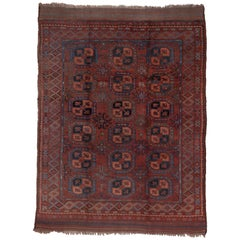 Antique Afghan Ersari Carpet