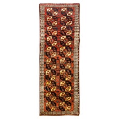 Antique Afghan Ersari Runner