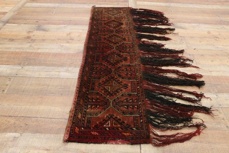 Antique Afghan Turkoman Turkmen Torba Bag, Wall Hanging, Tribal Textile Tapestry For Sale 1