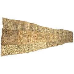 Antique African Kuba Cloth