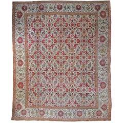 Antique Agra Carpet, India