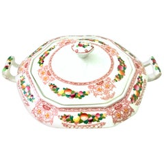 """Antique Alfred Meakin English Ironstone Vegetable Serving Dish """"Lawton"""""""