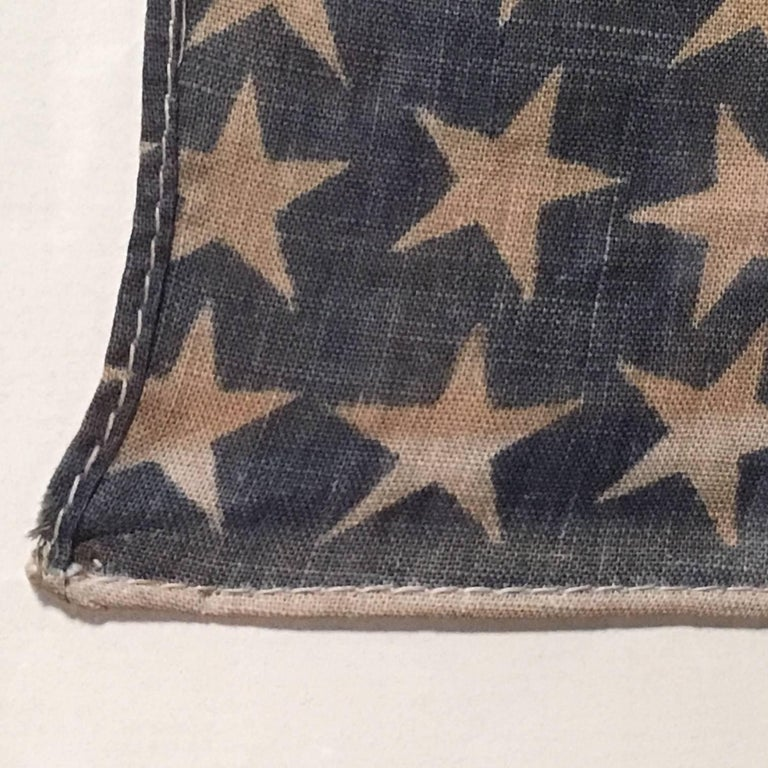 Early 20th Century Antique American 46 Star Flag from 1908 For Sale