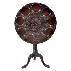 Antique American Federal Mahogany Tilt-Top Supper Table, circa 1790