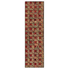 Antique American Hooke Rug