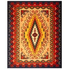 Vintage Navajo Style Carpet - Zapotec