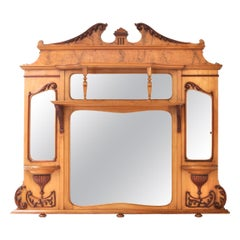 Neoclassical Mantel Mirrors and Fireplace Mirrors