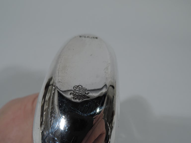 Antique American Silver Overlay Lady's Medicinal Flask For Sale 1