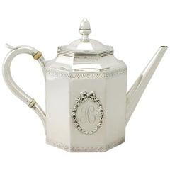 Antique American Silver Teapot - Circa 1815