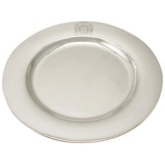 Antique American Sterling Silver Plate, circa 1929