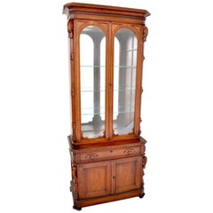 Antique American Walnut Renaissance Revival Bookcase, circa 1870