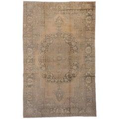 Antique Anatolian Oushak Carpet