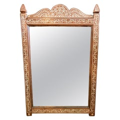 Antique Anglo-Indian Inlaid Mirror