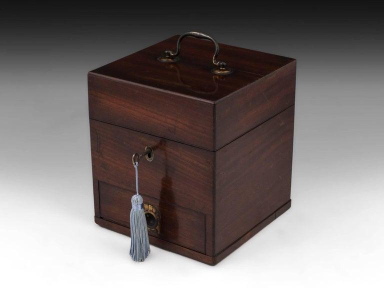 Antique Apothecary Medicine Box G. Marhsall & Co, 19th Century 4
