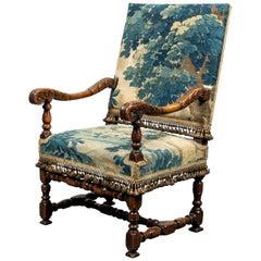 Antique Armchair in Period Verdure