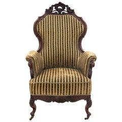 Antique Armchair in the Style of Neorococco, Scandinavia, circa 1880