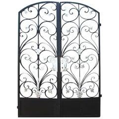 8Ft Art Deco Style Architectural Gates
