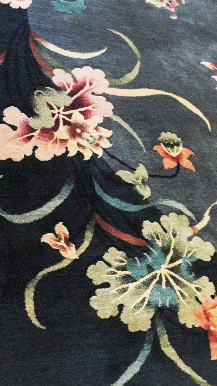 Antique Art Deco Carpet In Excellent Condition For Sale In Evanston, IL